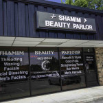 Exterior facade of Shamim Beauty Parlor