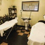 Cozy beds for hair removal waxing and facial services