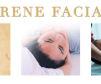 This picture depicts the logo of Cary, NC based beauty service called Serene Facials